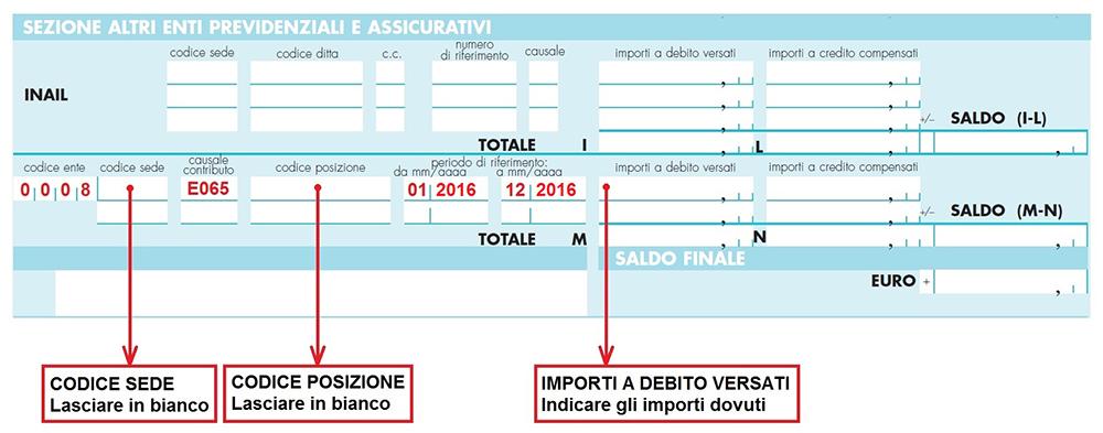 Riduzione contribuzione per neoiscritti epap for Pagamento f24